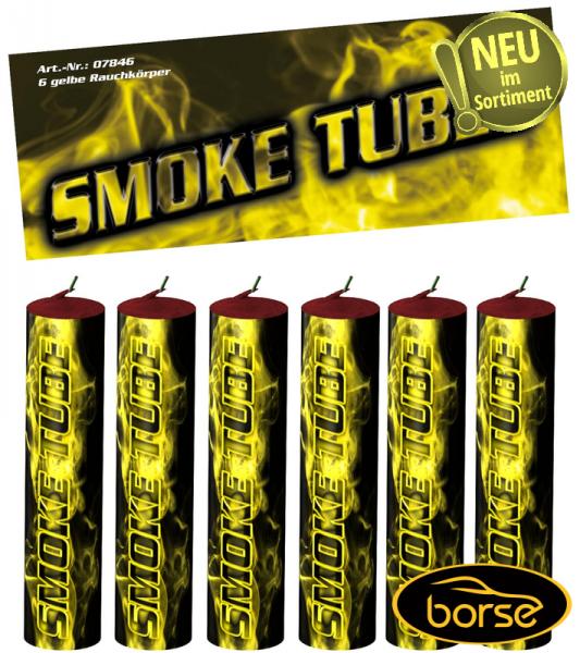 Smoke Tubes, gelb