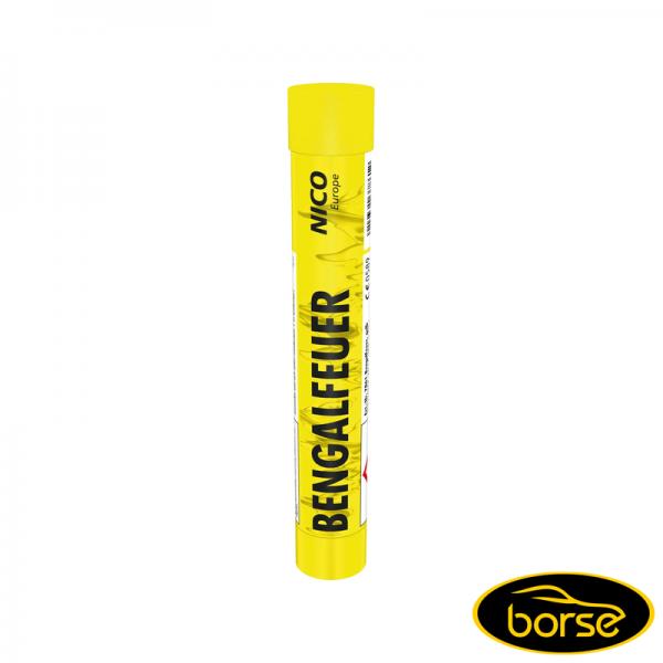 Bengalfeuer, gelb