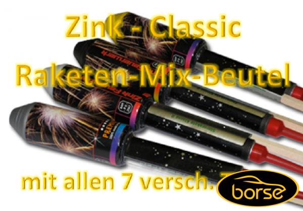 Zink Classic Rakete, Beutel